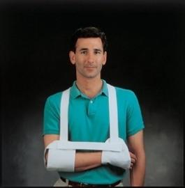 Standaard Hemi Harris sling, ondersteuning hand, arm en schouder