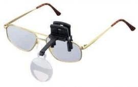 Labo clip-on enkel (opzetloep voor bril, op montuur te klemmen), vergroting 7,0x (164670)