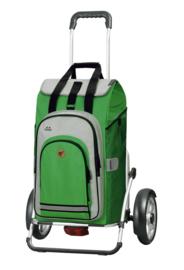 Boodschappenwagen met grote wielen en spatborden, Royal Shopper Plus Hydro 2.0 Groen