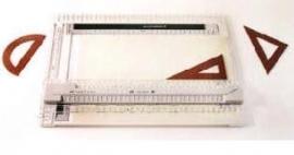 Reliëf tekenmap, voor het maken van voelbare tekeningen (300305)