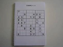 Grootcijfer Sudoku met grote cijfers voor slechtzienden (UT-SUDOKU)