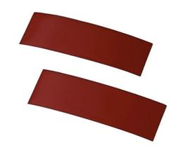 Rode banden/tape voor blinden en slechtzienden, per 2 stuks (200734)