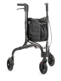 Binnenrollator voor in huis met 3 wielen extra wendbaar