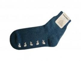 "Antislip sokken met anti-slip ""haasjes"" (Peters Angora) PA100243"
