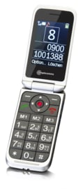 Mobiele telefoon voor slechtzienden met duidelijke toetsen en noodknop - M7000i