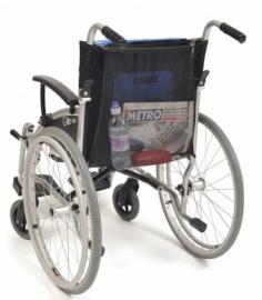 Netje voor rolstoel, boodschappennetje voor rolstoel