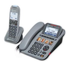 PowerTel 1880 DECT-telefoon met grote toetsen