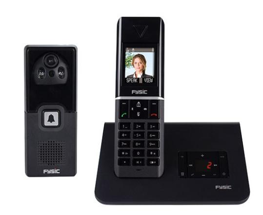 Loop Telefoon met Deurintercom en antwoordapparaat- FX-6107