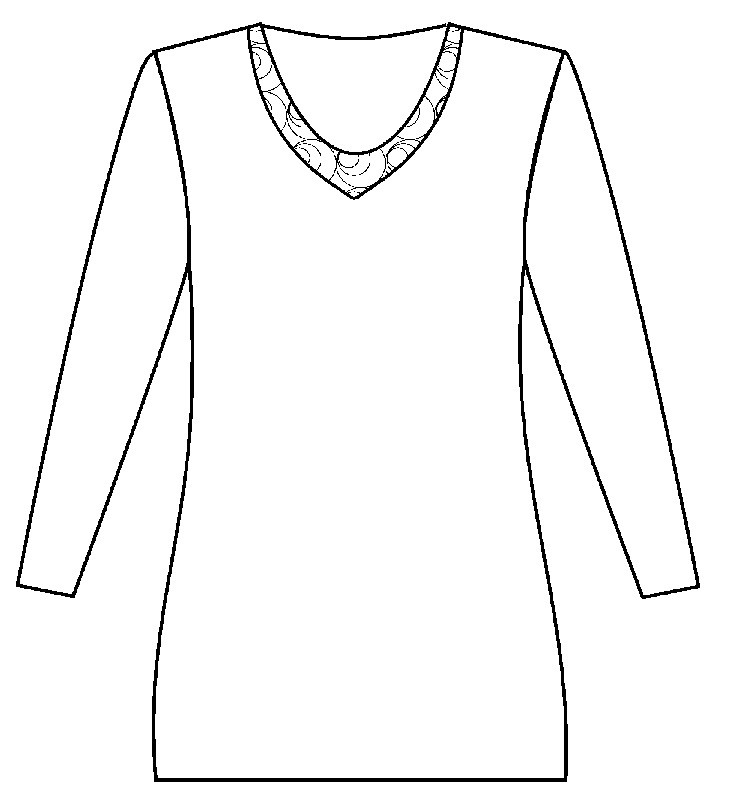 Angora dameshemd met lange mouw met Zwitsers borduursel 40% angora - 60048