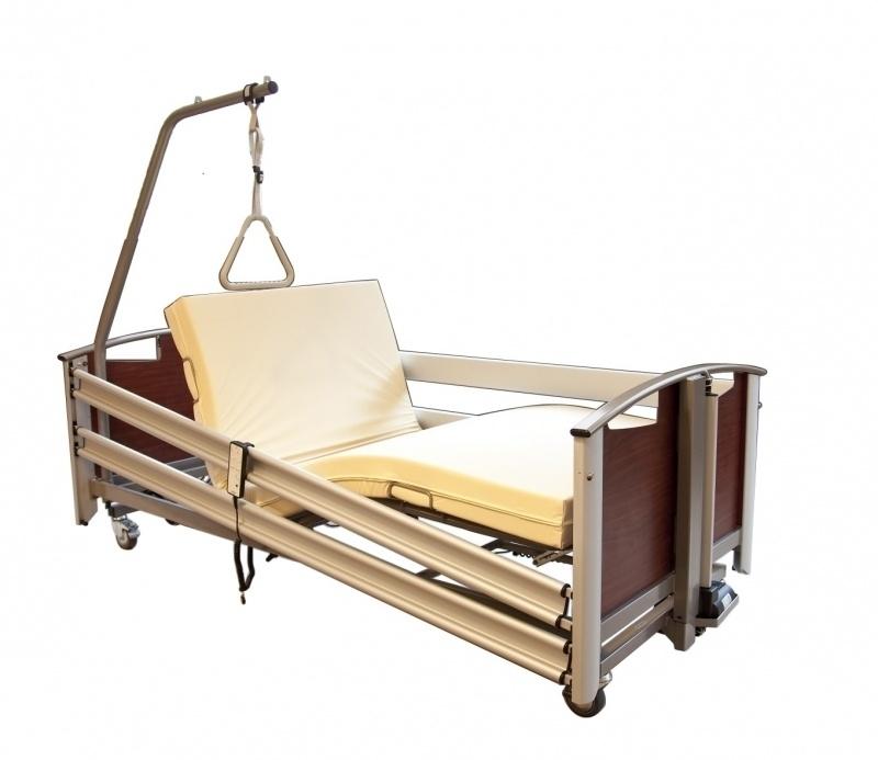 Ongekend lenen hoog laag bed via zorgverzekeraar lenen ziekenhuisbed PJ-58