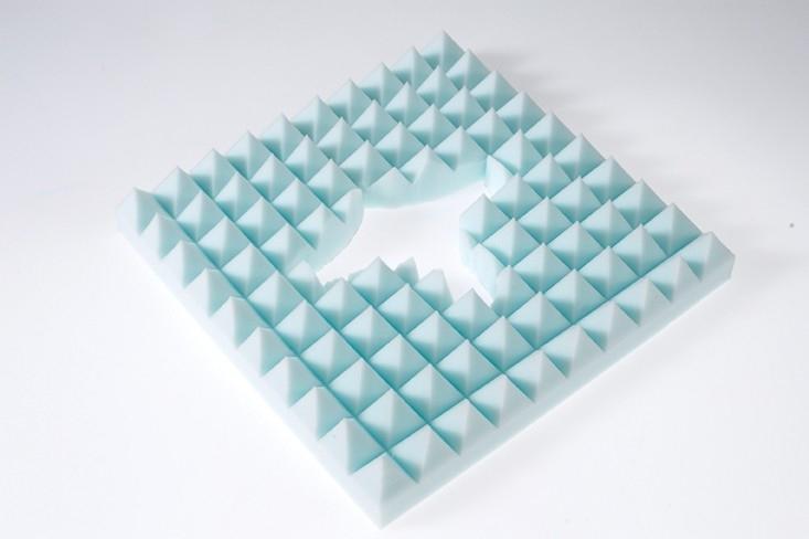 Kussen voor stuitje - Proform zitkussen combi, 43 x 43 x 8 cm (SP44367)