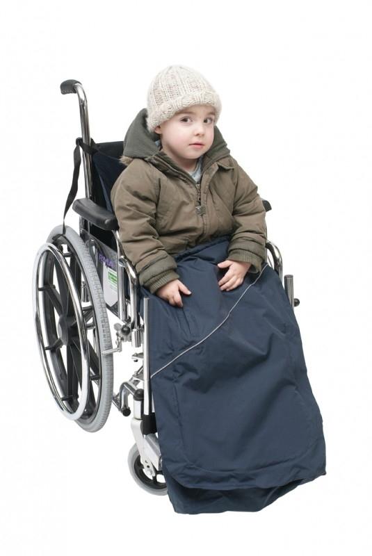 Rolstoel schootskleed voor een kind - Wheely cosy kind