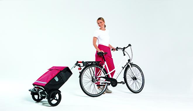 Boodschappenwagen Tura Shopper van Andersen voor achter de fiets