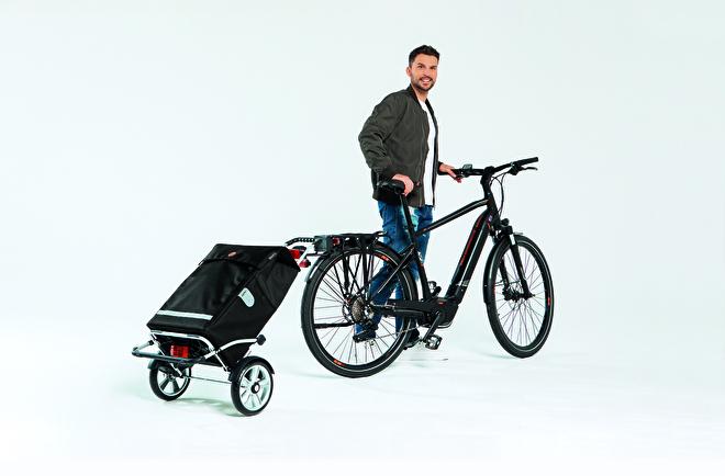 Royal Shopper Plus boodschappenwagen voor achter de fiets