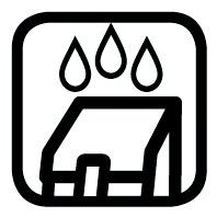 Waterafstotend boodschappenwagen