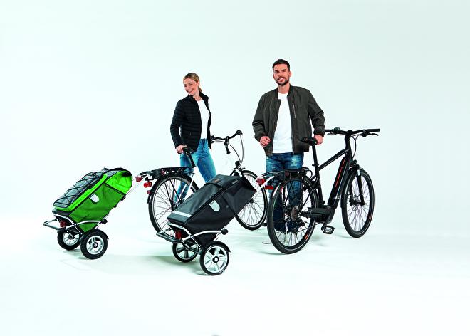 Boodschappenwagen met grote wielen en spatborden, Royal Shopper Plus