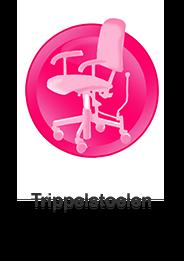 Thuiszorgwinkel voor trippelstoelen en werkstoelen