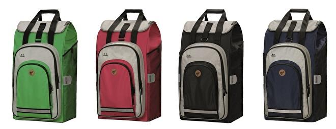 Overzichtsfoto Hydro 2.0 tassen voor boodschappenwagen van Andersen 2020