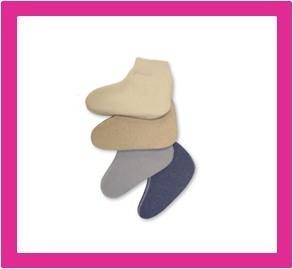 Wollen bedsokken, wollen sokken van Peters Angora