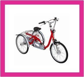 Driewieler, driewiel fietsen voor kinderen bij www.winkelmetzorg.nl