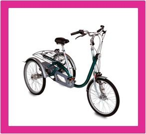 Driewielers, driewiel fietsen voor volwassenen bij www.winkelmetzorg.nl