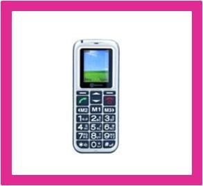 Mobiele telefoon voor slechthorenden bij Winkel met Zorg