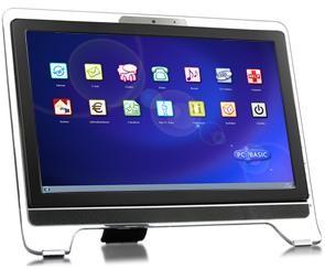 Seniorencomputer met touchscreen bij Winkel met Zorg