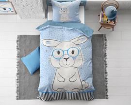 rabbit-blue katoen