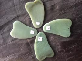 Hartvormige Guasha steen, kies uit steen 1/2/3 of 4