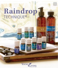 Raindrop massage voor de mens