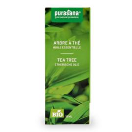 Tea tree olie biologisch, 10 ml, Purasana