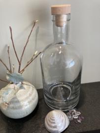 Glazen fles voor glazen edelsteenwand 700 ml