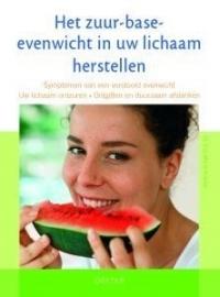 Boek Het zuur-base-evenwicht in uw lichaam herstellen;  Auteur: E.-M. Kraske
