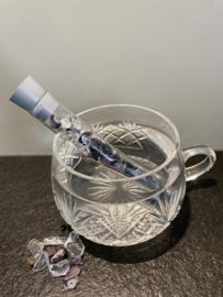 Waterwand  voor drinkglas: beschermd de aura