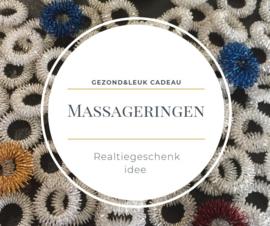 10 zilveren massageringen  zonder gebruiksaanwijzing: relatiegeschenk