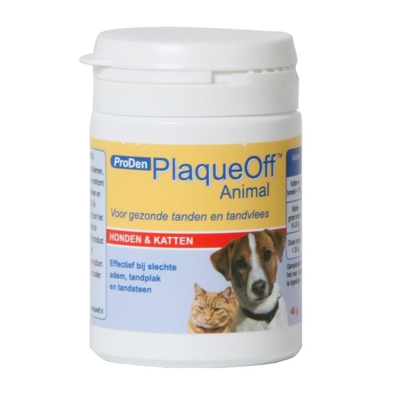 PlaqueOff - 180 gr  voor honden en katten, inclusief maatlepeltje