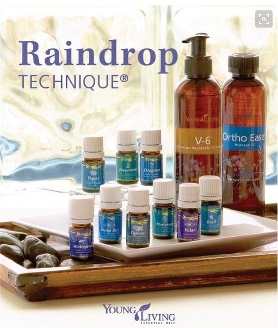 Raindrop massage voor de mens