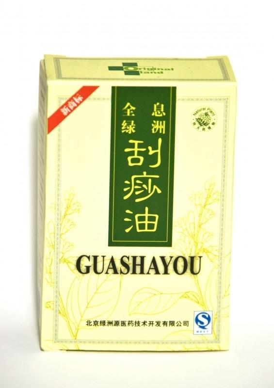 Witte guasha olie, 80 ml.