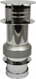 concentrisch dakdoorvoer Ø100-150mm DH126151