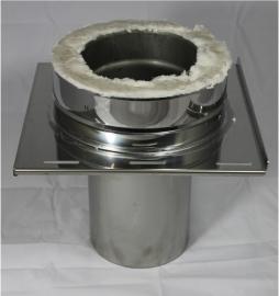Premier Isotube DW/Ø150mm Beginvloerplaat( onder EW Ø150mm, boven DW Ø250 mm)