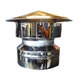 DW150/200mm valwindkap met gaas