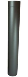 EW/Ø130mm Kachelpaspijp 100cm Kleur: antraciet