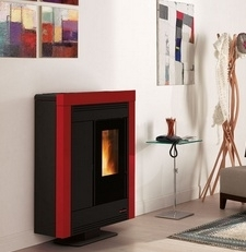 Extraflame Souvenir Staal Rood