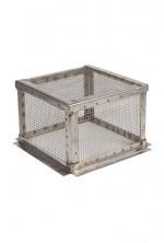 RVS gaas-korf los, voor schoorsteenkap (standard) #186060