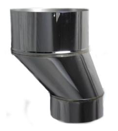 Verloopstuk met verslepping van 8 cm  (124 - 180 mm)