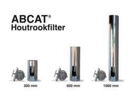ABCAT® houtrookfilter Ø180 Lengte 330mm