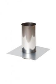 Flexibel Ø130mm Vloerplaat rvs