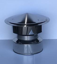 ISOTUBE Plus Twist Lock DW150 200 valwindkap - zwart