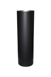 EW/Ø120mm Kachelpijp 50cm Kleur: zwart  DUN1201010