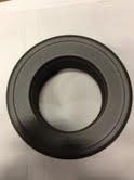 EW/130 Rozet insteek  Kleur: zwart
